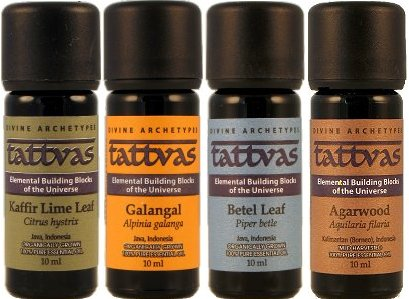 Tattvas Essential Oils - Full Set of 4