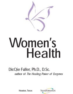 FREE E-Book - Women's Health by Dr. DicQie Fuller-Looney