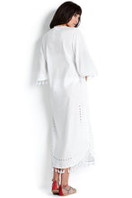 Seafolly White Cutwork Maxi Kaftan