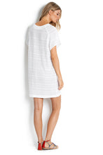 Seafolly White Tibetan Embroidered Tunic