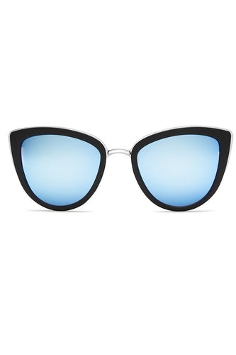 Quay Australia My Girl Black & Blue Sunglasses