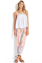 Seafolly Pink Lattice Shell Pant