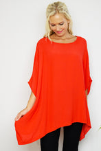 Red Drape Top