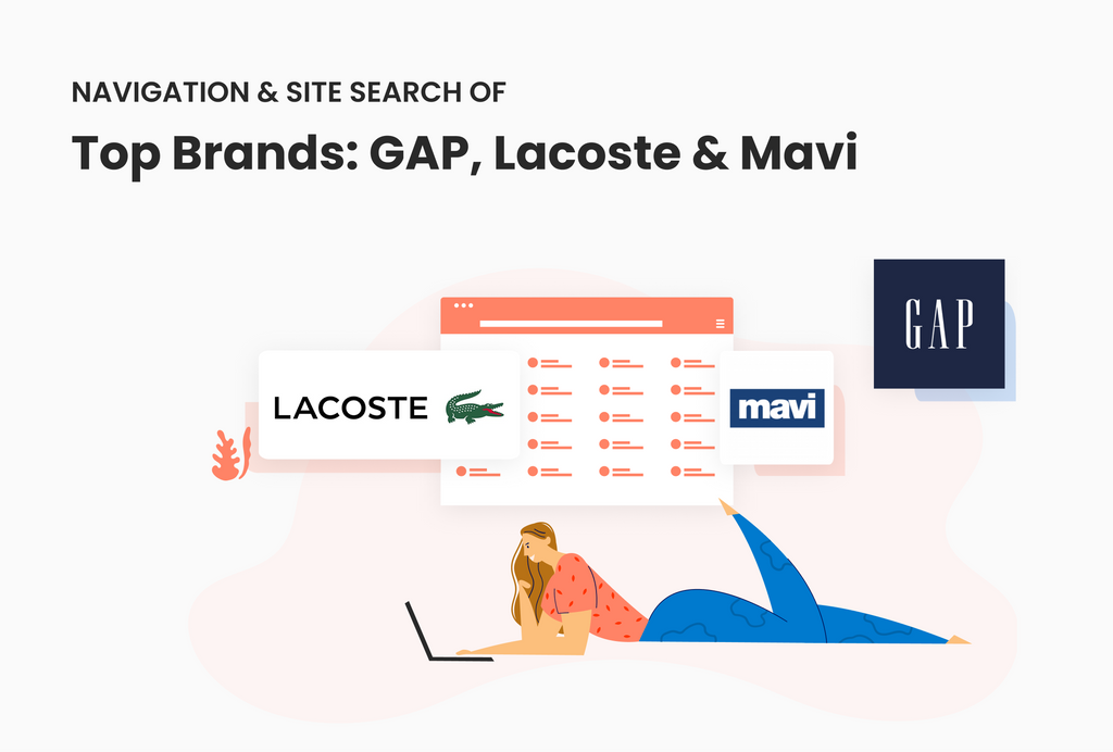 Product filter & site search best practices: A closer look into GAP, Lacoste and Mavi