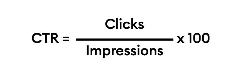 click through rate formula ecommerce features