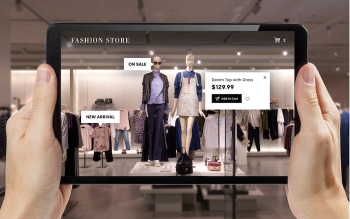 augmented reality retail mcommerce trend