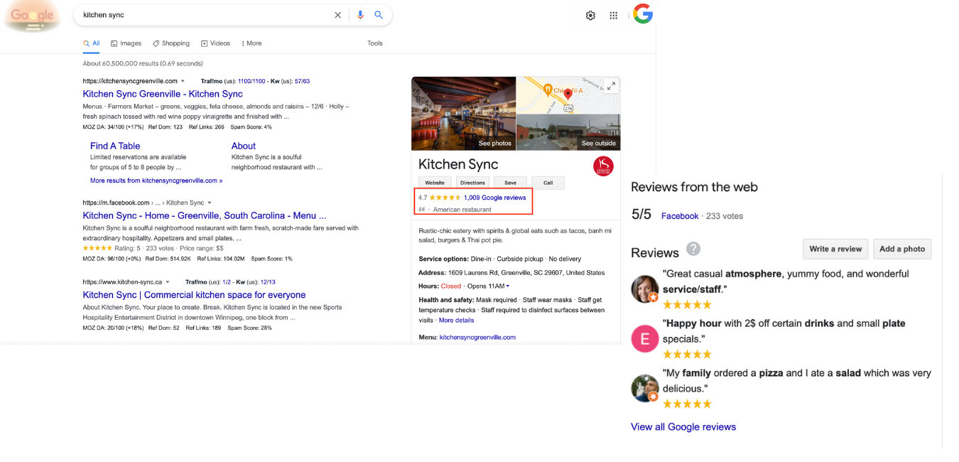review ratings on Google My Business amazon prime day