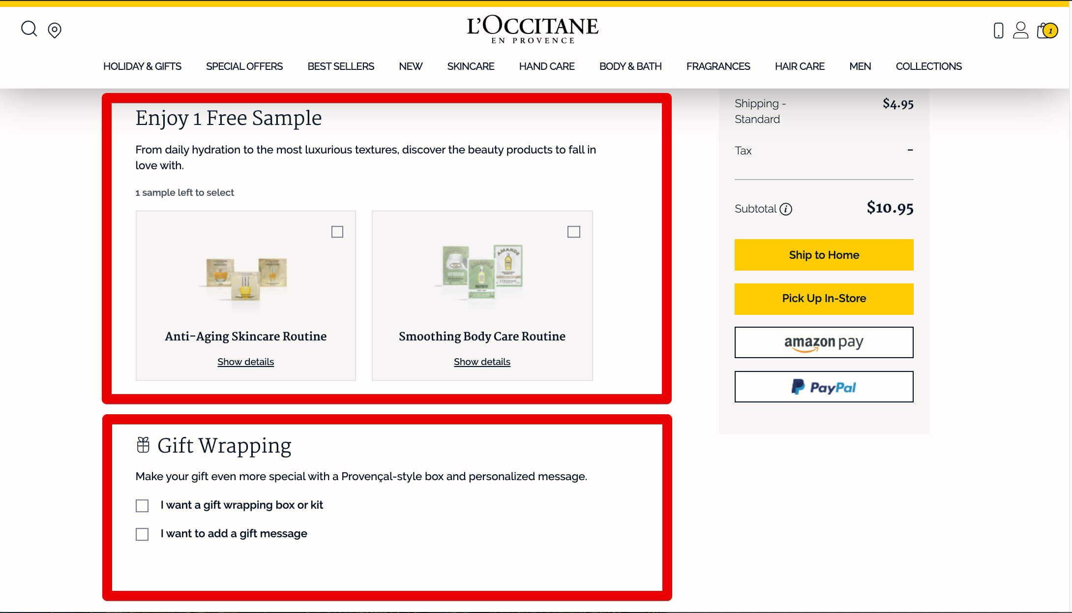 holiday cross sell tip loocitane boost commerce