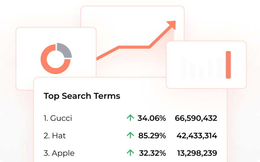 most searched term analytics site search seo