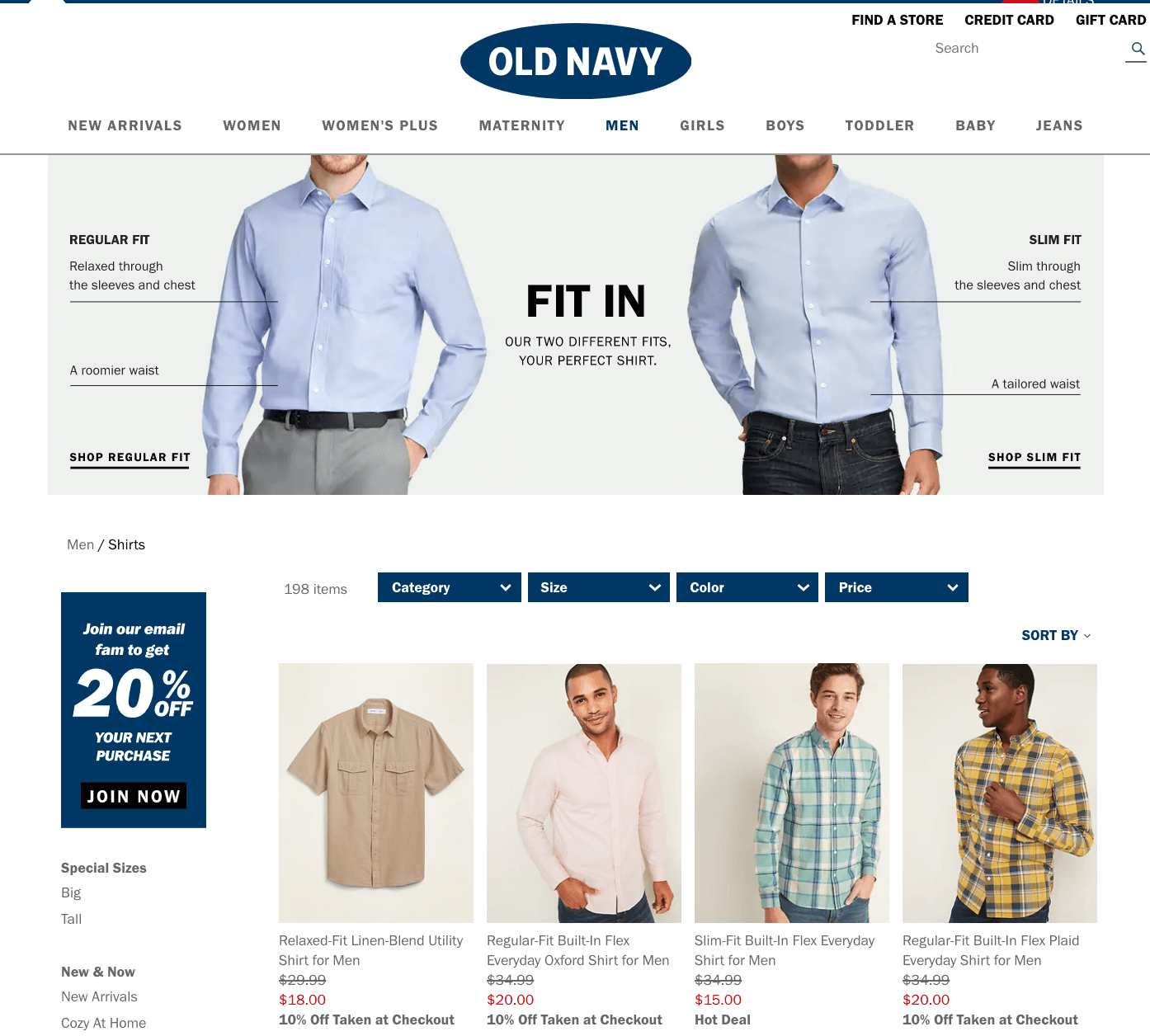 old navy collection image description