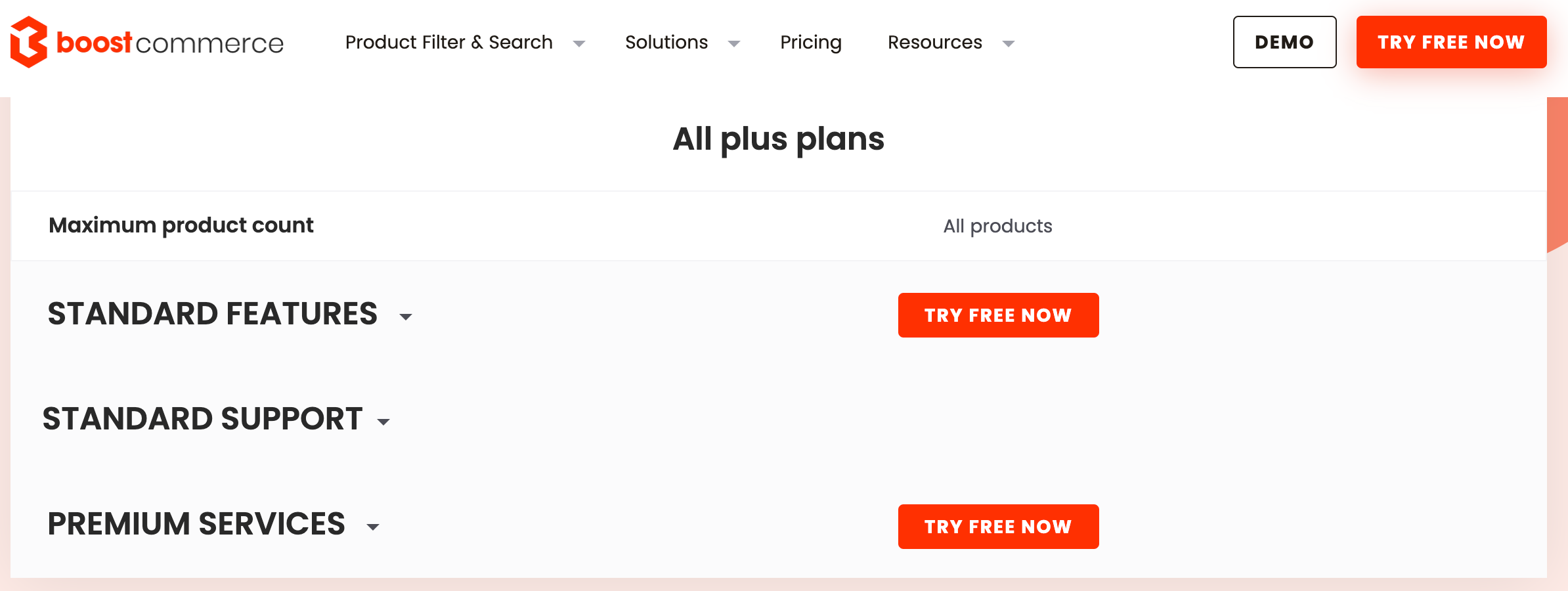 Boost Product Filter & Search introduces new plans for Shopify Plus