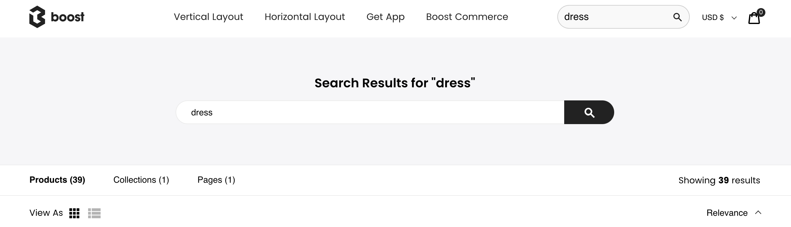 maintain search query on result page for search ui ux