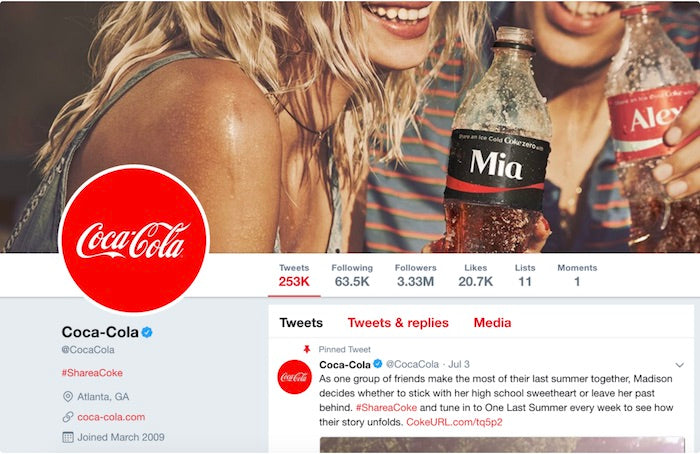twitter campaign using ugc benefits of user generated content