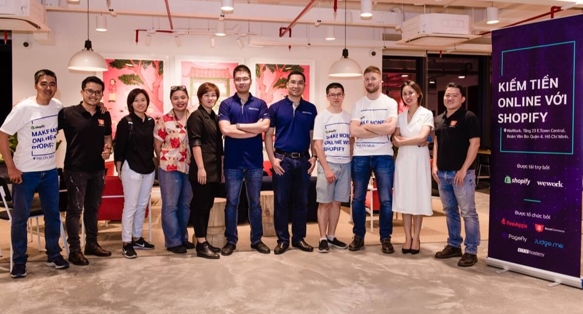 shopify meetup vietnam hcmc boostcommerce