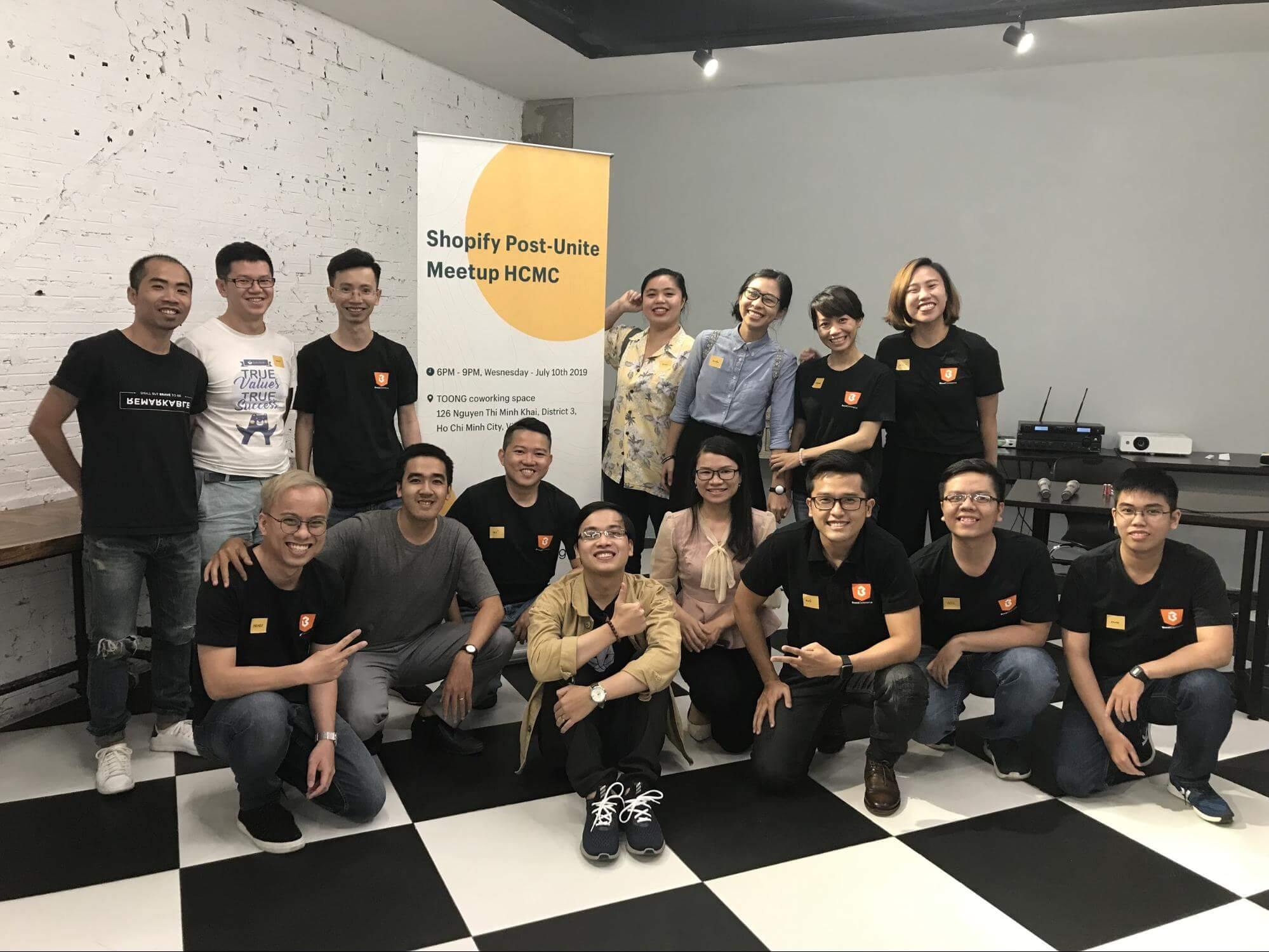 shopify postunite meetup hcmc vietnam boostcommerce