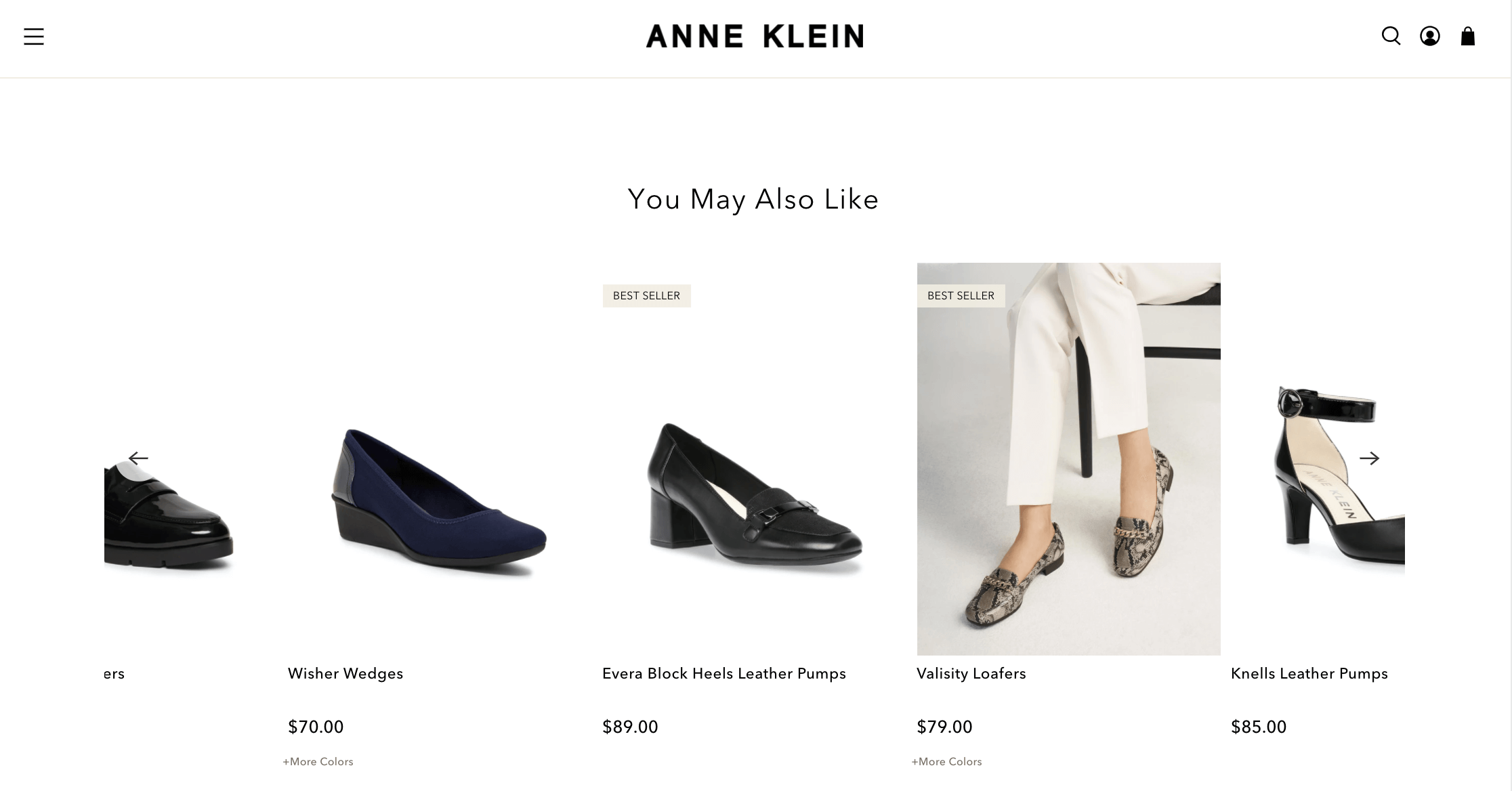 upsell example annea klein boost commerce
