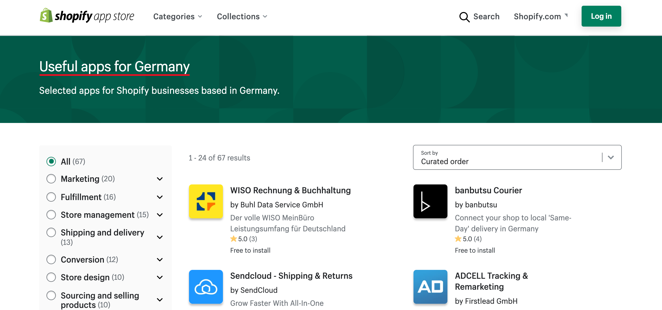 useful shopify apps for selling in germany