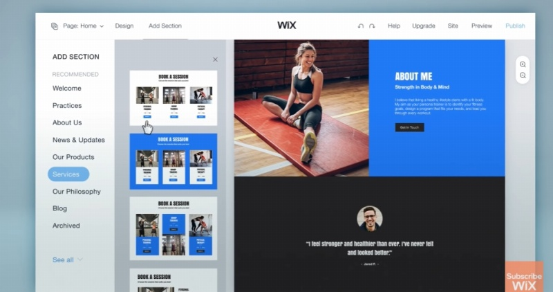 wix easy to use
