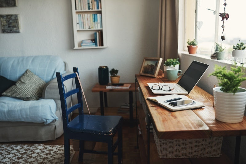 work from home desk space boost commerce