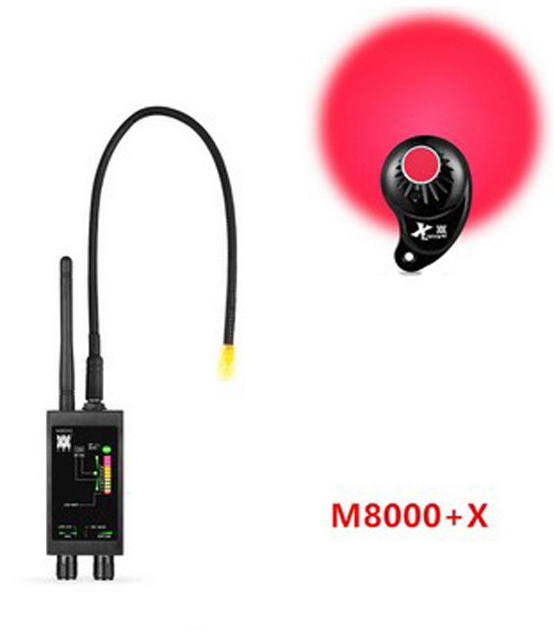 Detector M8000  Camera Finder X GPS Tracker Finder Camera Scanner Detectors Anti Spy Lens CDMA GSM Device Finder Monitor