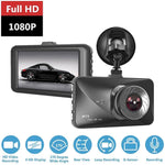 3 Inch LCD Full HD 1080P Car Driving Recorder Vehicle Camera Mini Car DVR Dashcam With Motion Detection Night Vision G Sensor