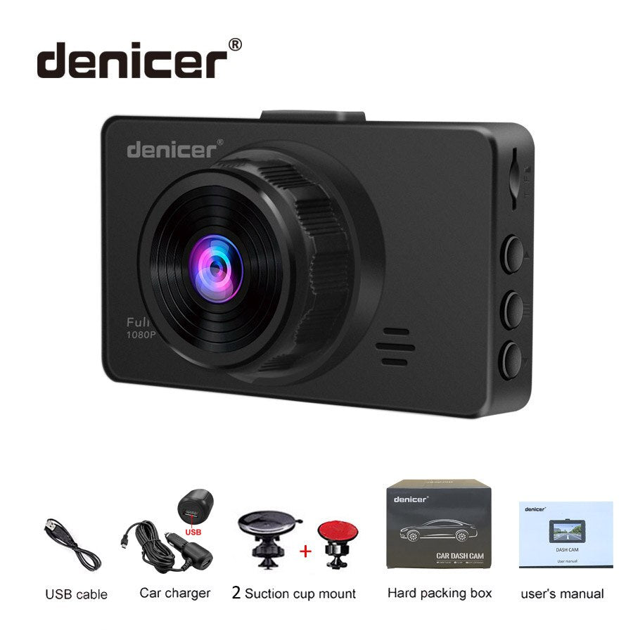 2019 Hot Car DVR HDMI Dashcam Full HD 1920*1080P DVRs Car Camera Night Vision Clear Shooting Parking Monitoring Auto Recorder