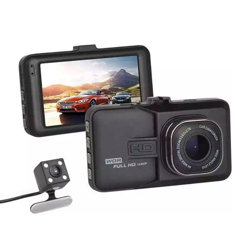 Car driving recorder Dashcam Motion detection night vision G sensor 3 inch1080p HD camera dvr video recorder hidden mini camera