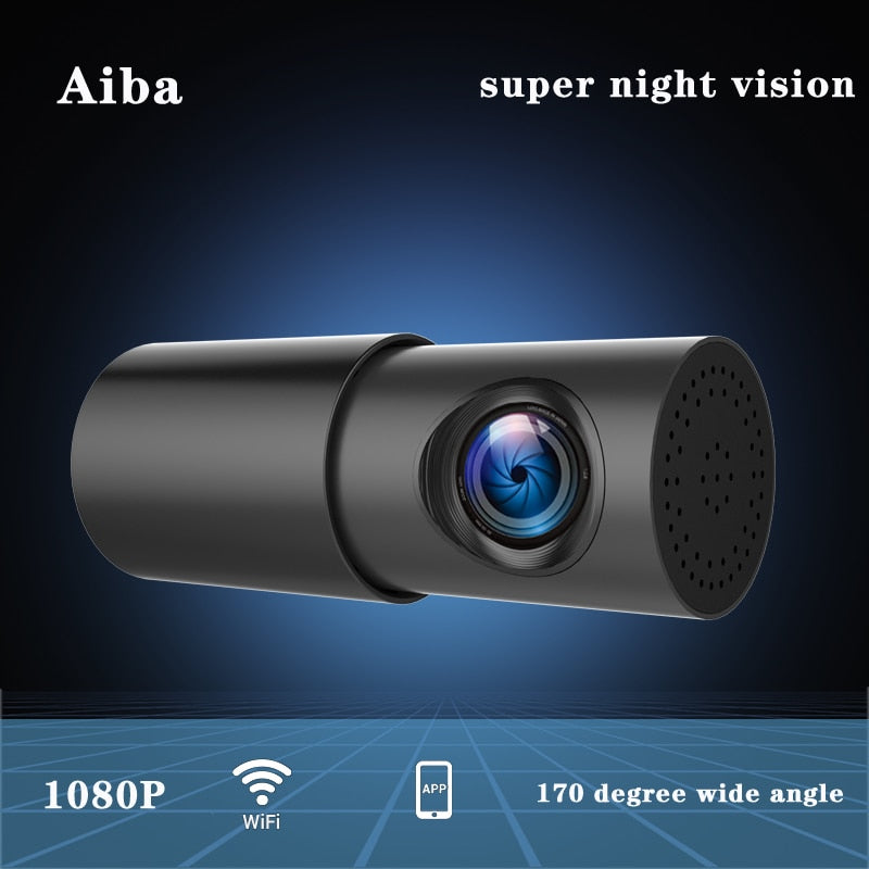 Aiba A10 Dash Cam Wifi APP 1080P HD Night Vision G-sensor Dashcam Video car camera Recorder 24H Parking Monitor Car DVR Camera