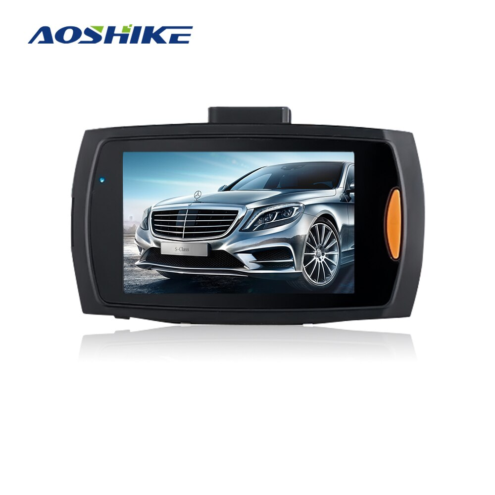AOSHIKE Car DVR Camera Full HD 1080P G30 140 Degree Dashcam Video Registrars for Car Night Vision G-Sensor Dash Cam with Russian