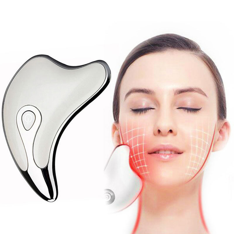 New Arrival face massager Face Lifting Device Body Massage USB Rechargeable Skin Rejuvenation Massager Electirc Scraping Tool