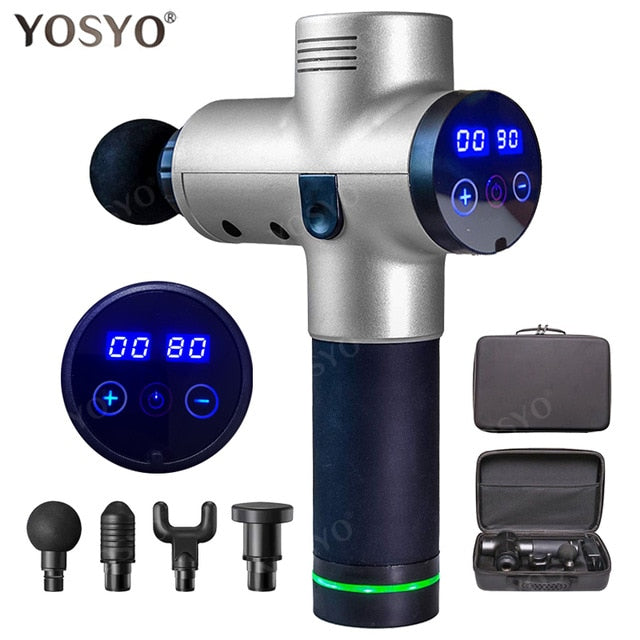 Massage Gun Muscle Relaxation Massager At Home Charging Deep Dynamic Therapy Vibrator Box Portable Package