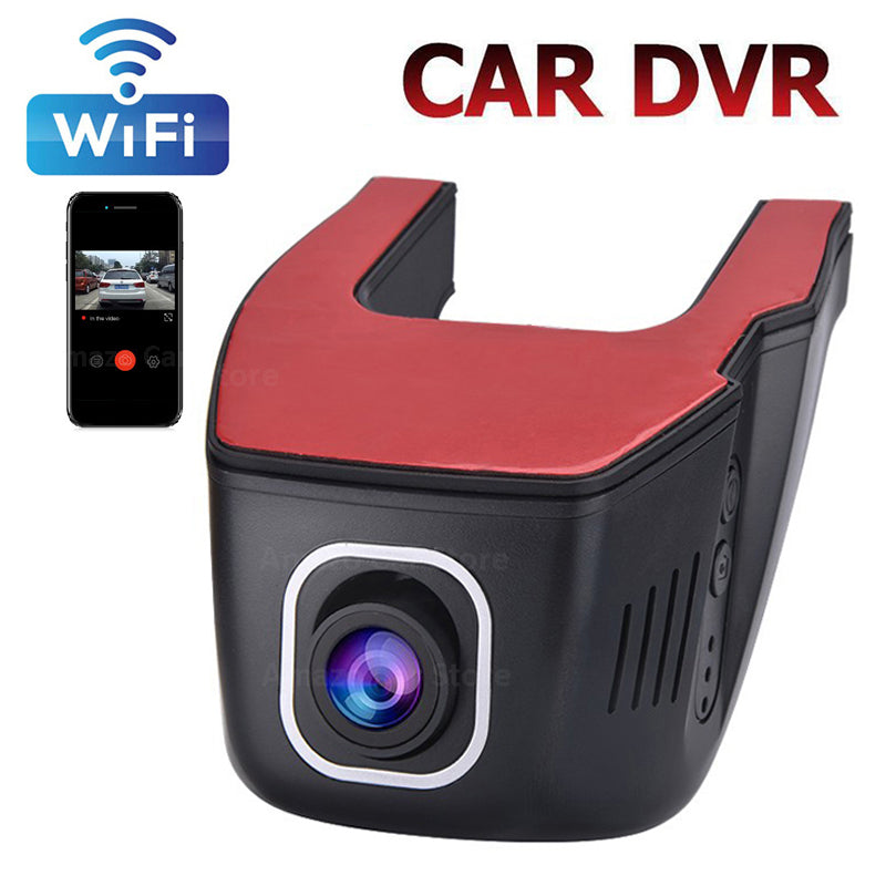 V24 Wifi Car DVR Dash Camera Driving Recorder APP Full HD 1080P Night Vision Loop Recording G Sensor Motion Detection Dashcam