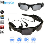 HD 1080P Bluetooth Smart Glasses Music Video Recorder DV MP3 connection phone Outdoor Sport Sunglasses Camera Support TF card