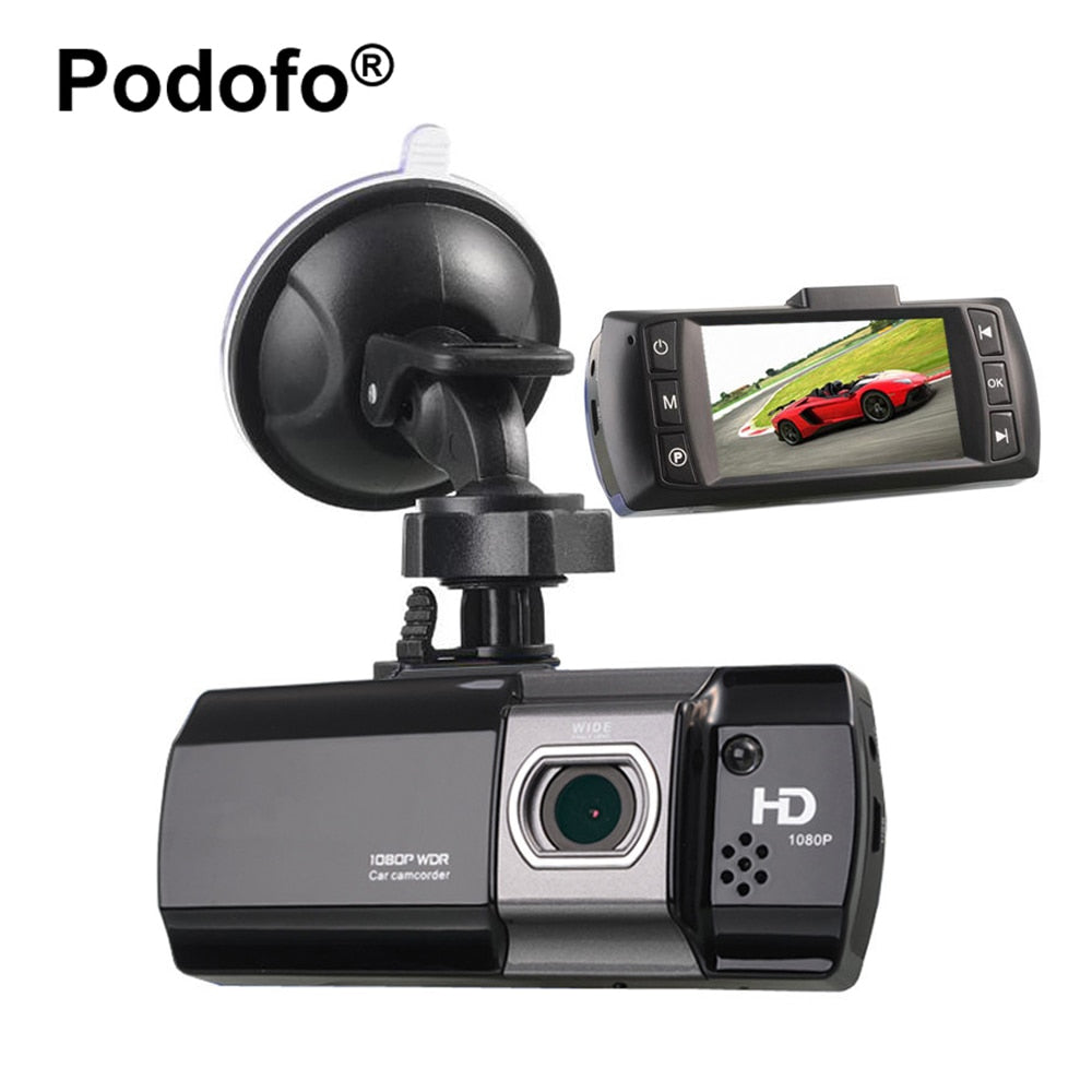 "Podofo Car DVR Novatek 96650 AT550 FHD 1080P 2.7"" LCD Car Camera Dashcam Video Recorder Night Vision Registrator Car Covers DVRs"