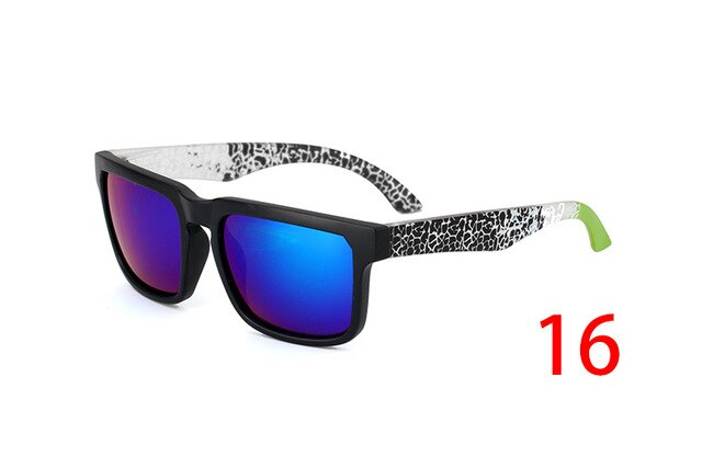 New KEN BLOCK Sunglasses Men Brand Designer Sun glasses Reflective Coating Square Spied For Women Rectangle Eyewear gafas de sol