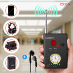 RF Scanner Detector Bug Camera Spy To Detects WIFI GSM GPS Radio Signals Finder
