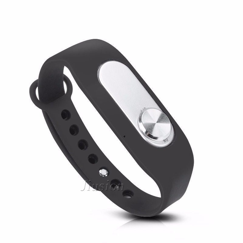 Portable Audio Sound Voice Recorder 4GB/8GB 70 Hours Recording Wearable Wristband Digital Sports Bracelet Pen Interview Meeting