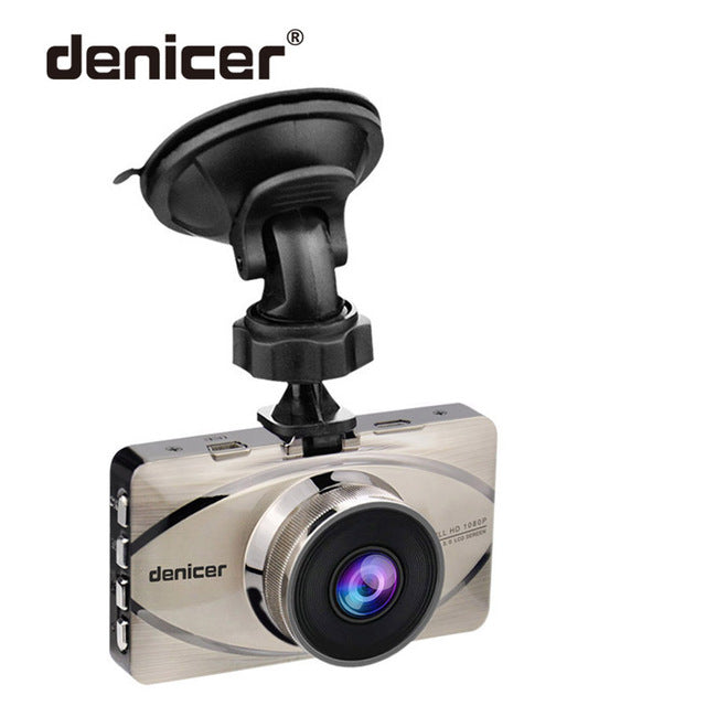 Car Recorder Top Autoregistrar Metal Dashcam Full HD 1080P Auto Recorder Night Vision IMX323 DVR 170 Registrator +Rear 2 Cameras