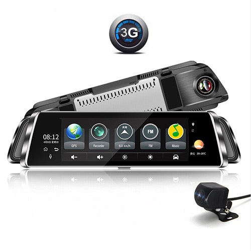 ANSTAR 4G Android Dashcam Full HD 1920x1080 Mirror DVR Car Recorder Wifi ADAS GPS Dash Camera 10'' IPS Touch Screen Car DVR
