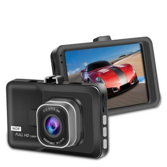 Car DVR Full HD 1080P 3 Car Camera With Motion Detection Night Vision G Sensor 120 Degrees Dashcam Video Registrars For Cars