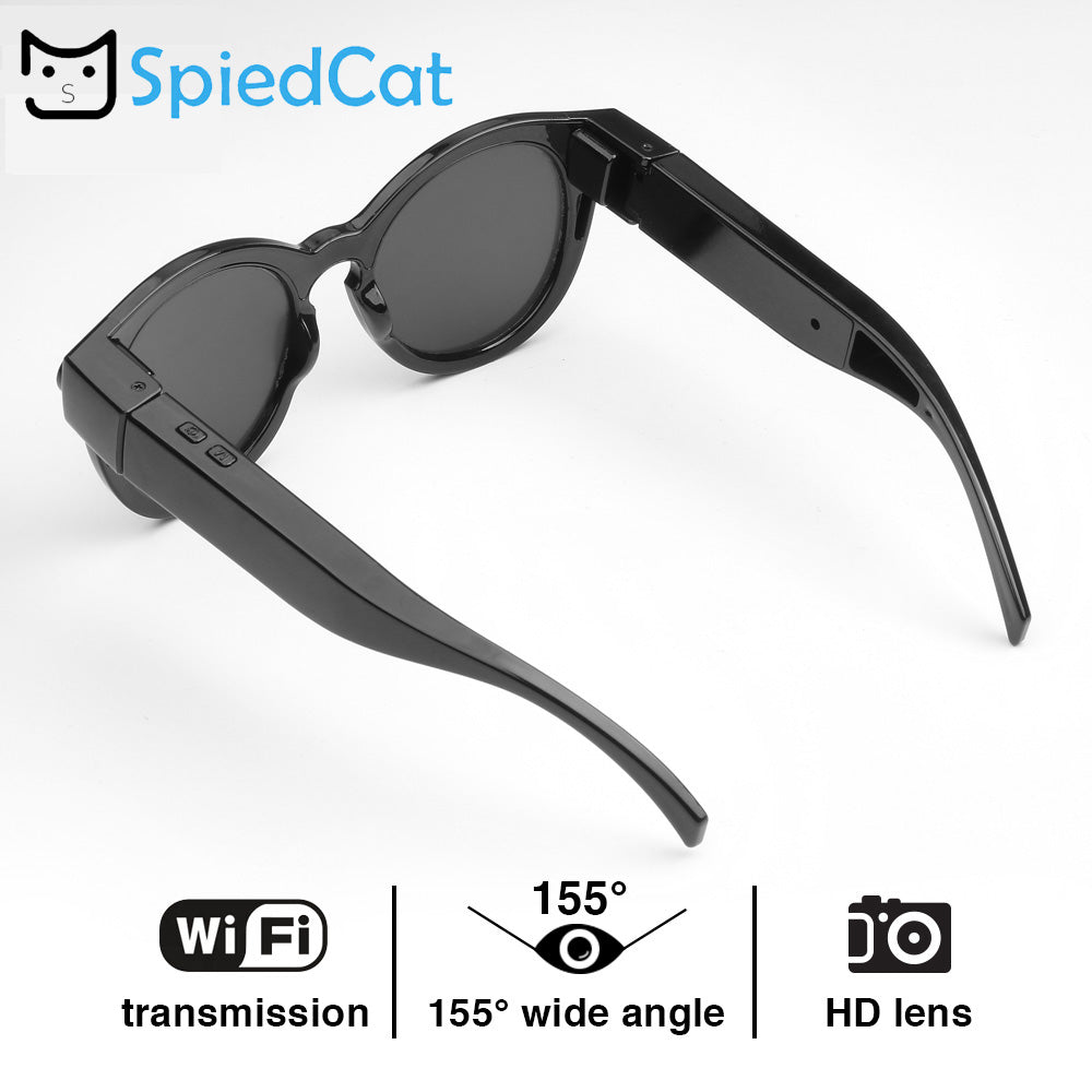 Smart Camera Glasses HD 1080P Mini Digital Video Camera Recorder Eyewear DVR Video Recorder Built-in Battery Camcorder