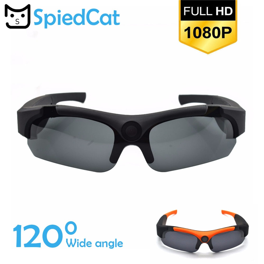 Sunglasses Mini Camera DV Wide Angle 140 Degrees Camera HD 1080P for Outdoor Action Sport Video Mini Camera Secret Glasses Cam