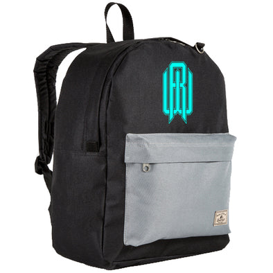 Backpack - RW Black/Gray/Electric Blue
