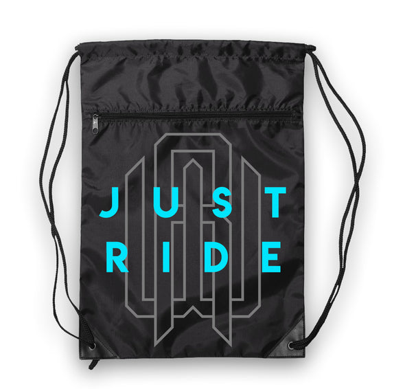 Drawstring Bag - Just Ride