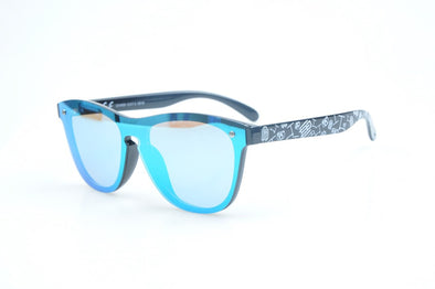 Sunglasses - Electric Blue Frameless