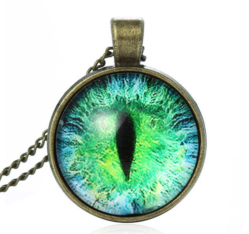 Super cool cat eye pendant necklace betty lulu super cool cat eye pendant necklace aloadofball Images