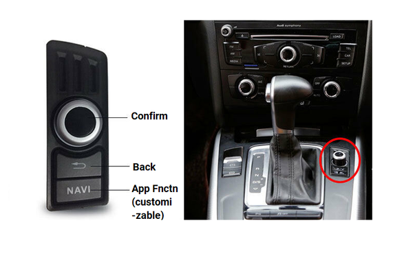 [Reservation] S3 Android control knob with replacement harness for Concert/Symphony Radio