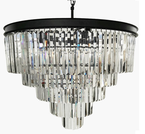 12 Lights Luxury Modern Crystal Chandelier Pendant Ceiling Light