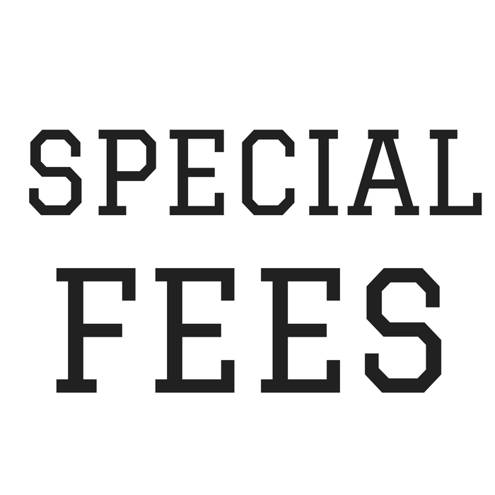 SPECIAL FEES