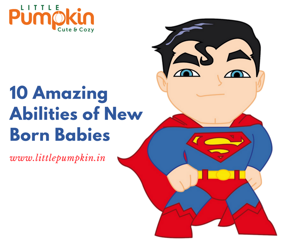 10 Amazing Abilities Of New Born Baby!!
